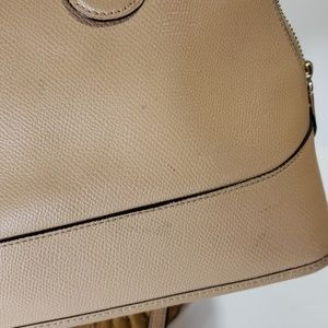 Coach Bags - Coach Cora domed satchel tan f33909